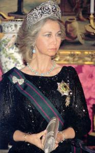 gioielli della regina di Spagna