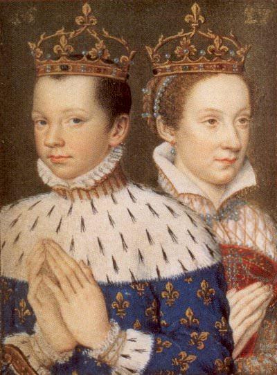 Maria Stuart e Francesco II