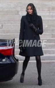 Charlène arriva alla cattedrale di Monaco il 27 gennaio 2010, giorno di santa Devota patrona del principato