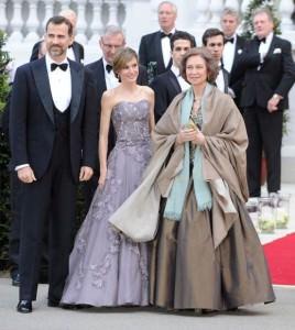 Principi Asturia e regina Sofia