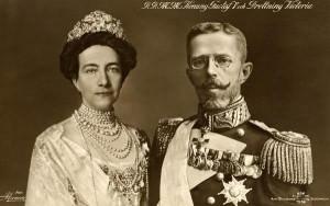 Victoria e Gustavo V re di Svezia