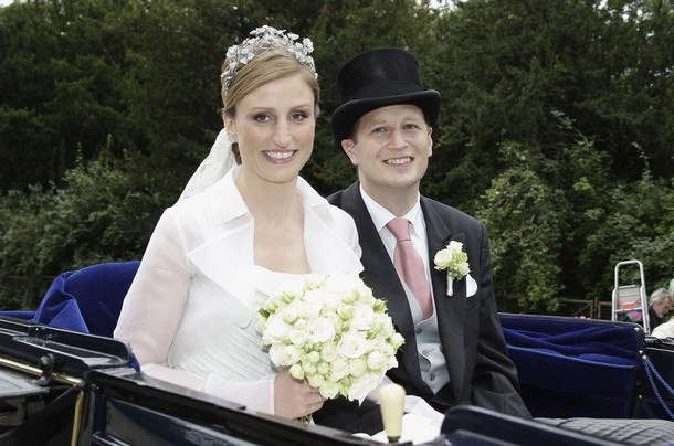 Georg Friedrich Ferdinand Prince Of Prussia And Princess Sophie Of Isenburg Wedding
