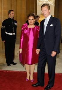 Il granduca e la granduchessa del Lussemburgo