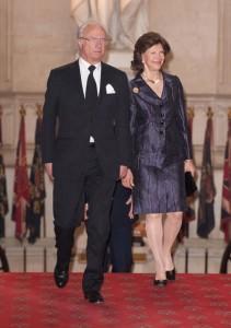 Il re e la regina di Svezia