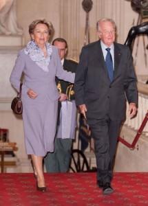 Il re la la regina dei Belgi
