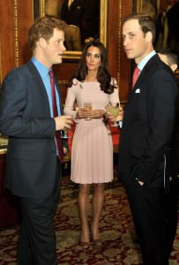 Harry, Kate e William