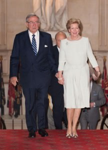 Il re e la regina di Grecia
