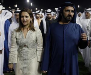 La coppia alla Dubai Wordl Cup
