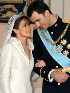 Letizia e Felipe sposi