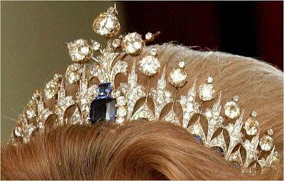 Regina maxima for Tiara di diamanti