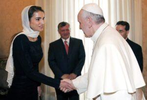 Vatican Pope Jordan