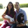 Kate, William, George e… Lupo