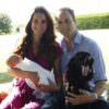 Kate, William, George e… Lupo