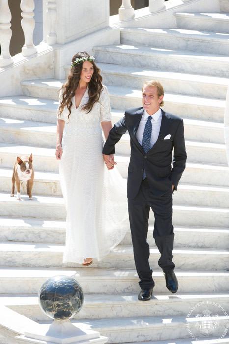 92bdc8f53664 Andrea e Tatiana oggi sposi hippy chic - Altezza Reale iI blog di ...