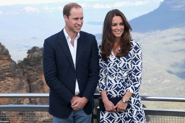 Il viaggio agli antipodi di William, Kate e del piccolo George