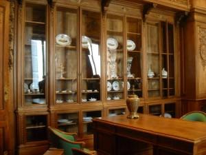 12 Biblioteca ... e le porcellane di Meissen