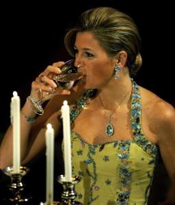 Maxima gala per i 25 anni di regno della regina Beatrice