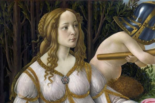 Venere e Marte, Simonetta e Giuliano: quando il gossip si fa arte