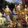 Una famiglia divina: il Re Sole e i suoi tutti insieme sull'Olimpo