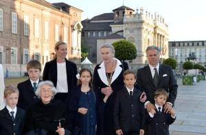 Sindone: Maria Gabriella di Savoia a Palazzo Reale di Torino
