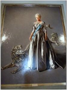 Christiansborg - Ritratto della Regina