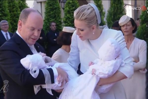 Il battesimo di Jacques e Gabriella di Monaco