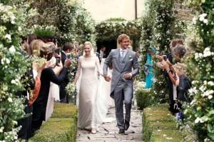 L'abito di Armani delle nozze religiose