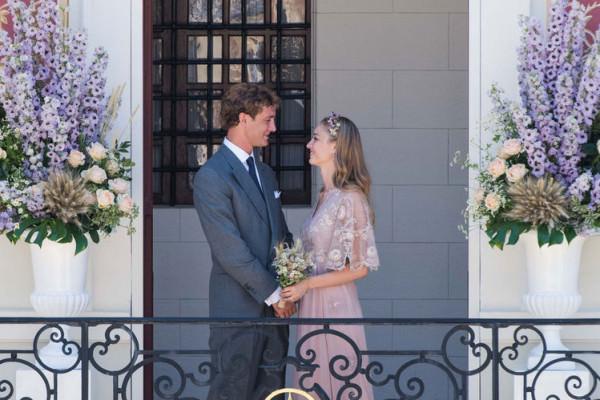 Pierre Casiraghi e Beatrice Borromeo oggi sposi a Monaco