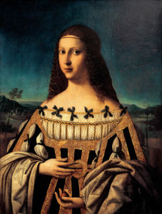 Tagliatelle di Lucrezia Borgia Bartolomeo Veneto2
