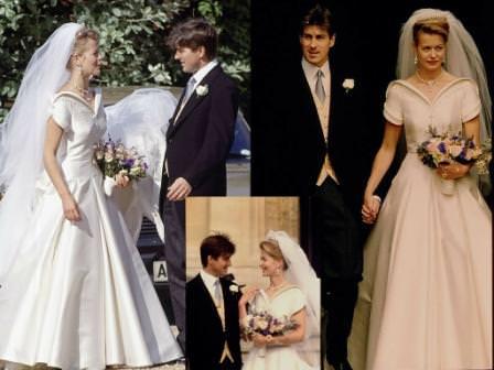 La figlia del duca di Kent è una delle prime spose reali della nuova  generazione  bella d269a0d193c