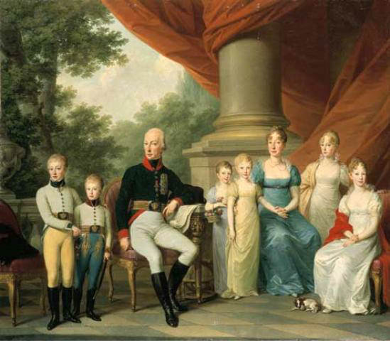 duchessa-Maria-Luigia-famiglia