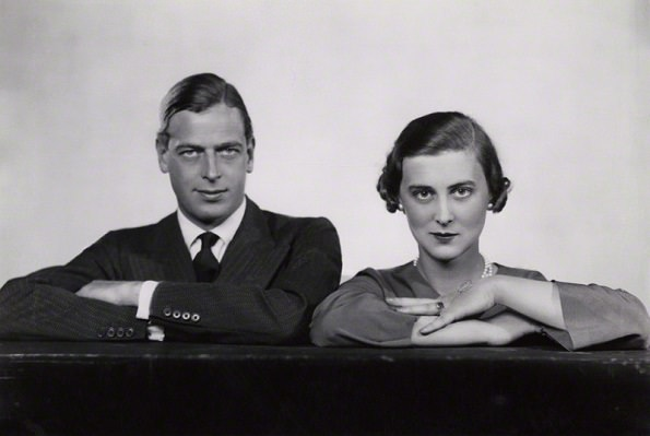 NPG x33897; Prince George, Duke of Kent; Princess Marina, Duchess of Kent by Dorothy Wilding