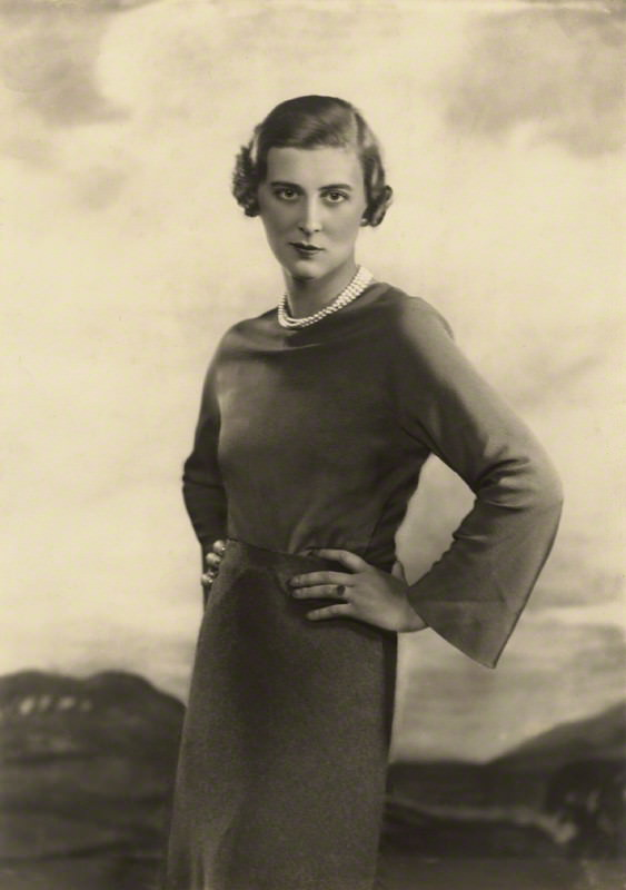 NPG x46511; Princess Marina, Duchess of Kent by Dorothy Wilding
