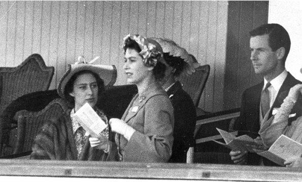 Margaret e Peter con Elisabetta