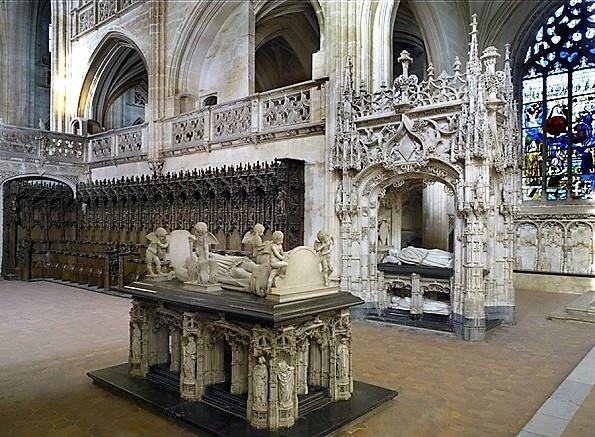 Margherita e Filiberto le tombe