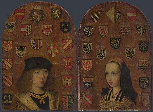 Margherita e Filiberto ritratti