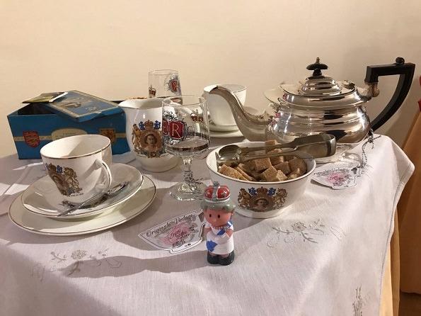 Un te con Elisabetta ii
