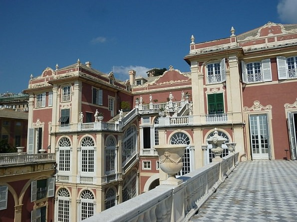 Palazzo Reale Genova terrazza