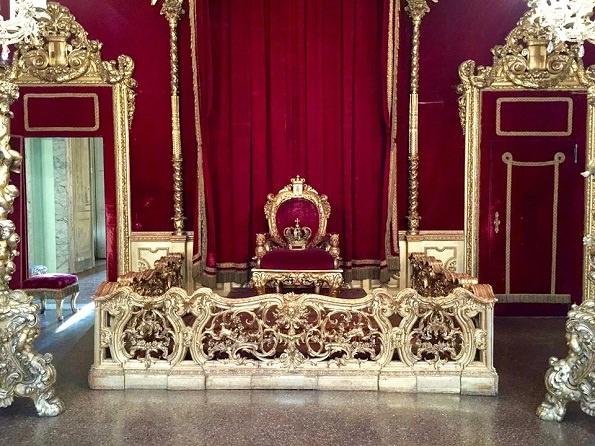Palazzo Reale Genova sala del trono