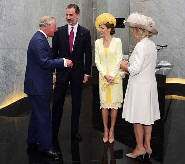 Felipe e Letizia a Londracon Carlo e Camilla
