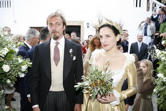 Aimone di Savoia, le nozze