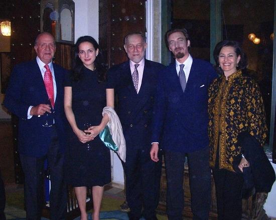 Aimone di Savoia e Juan Carlos