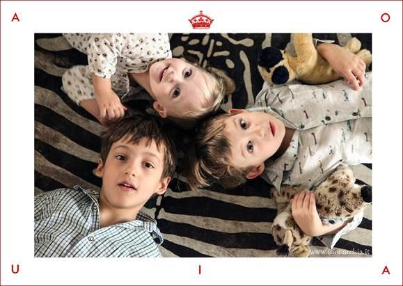 Aimone di Savoia, i figli