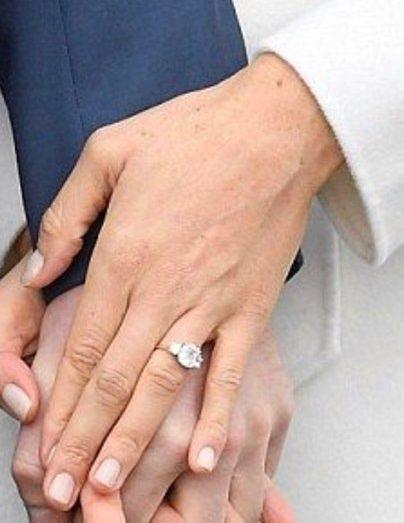 Harry sposa Meghan, l'anello