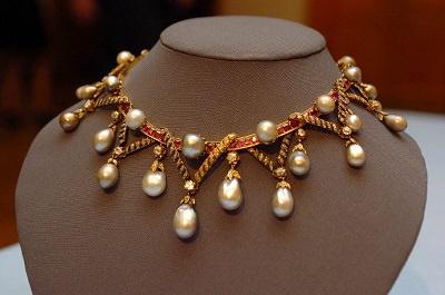 Le perle della regina, il collier Sutherland