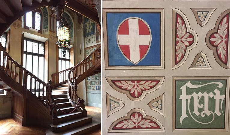 Castel Savoia, dettagli