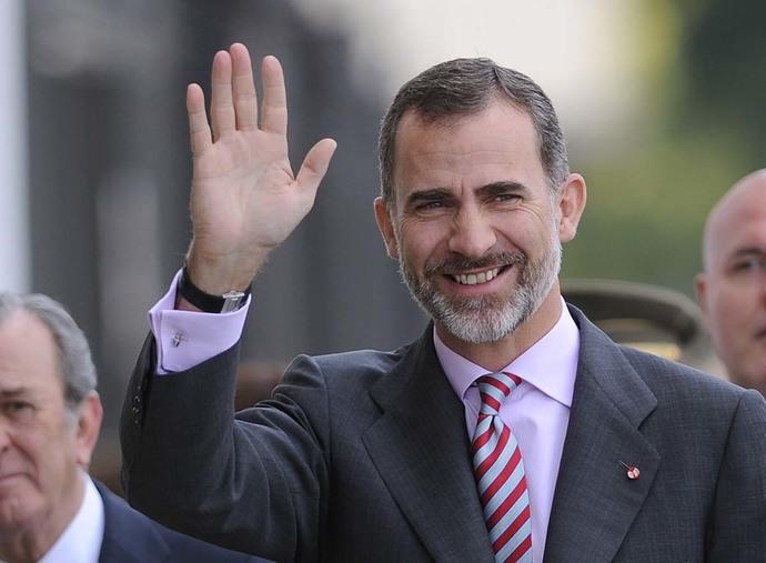 50 anni di Felipe VI