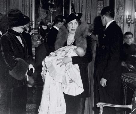 Re di Spagna, il battesimo di Juan Carlos