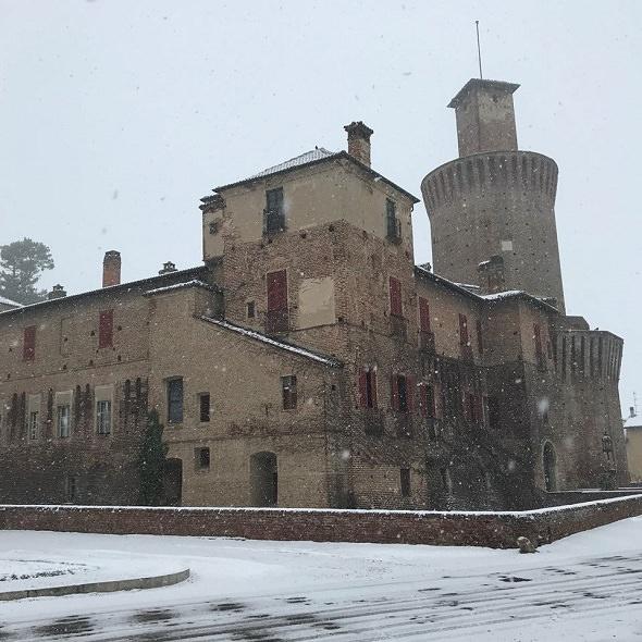Amedeo duca d'Aosta, il castello di Sartirana