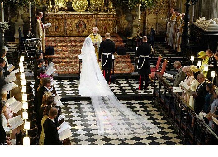 Harry e Meghan sposi, la cerimonia